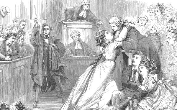 Развод без присутствия позволяет избежать неприятных встреч в суде, эмоций, реакций на появление теперь уже враждебной стороны - бывшего супруга (слезы, вздохи, комментарии, взгляды),