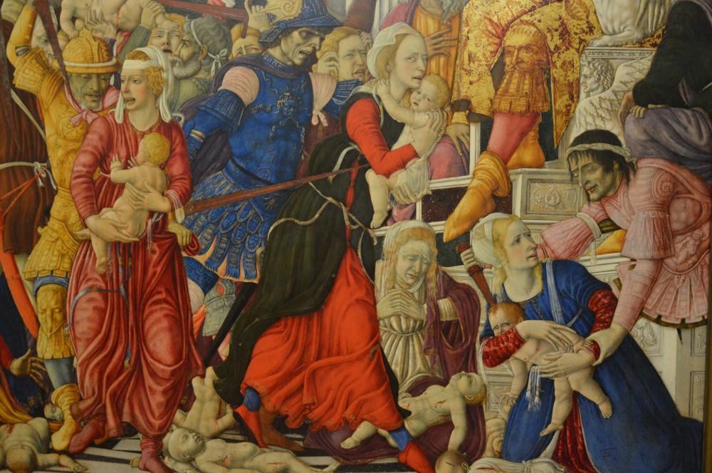 Маттео Ди Джованни Избиение Младенцев 1481-1488