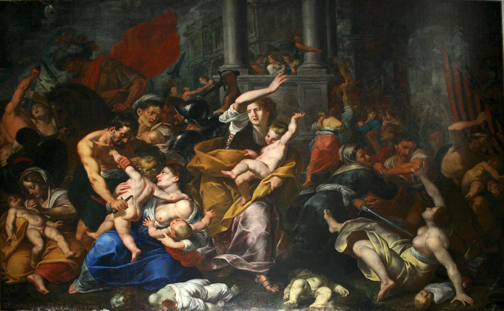 Giovanni Cristoforo Storer - Massacre of the innocents.